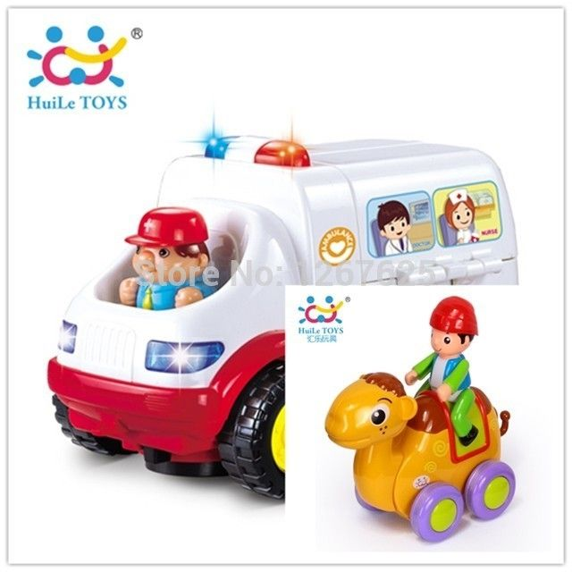 47.00$  Buy here - http://aiars.worlditems.win/all/product.php?id=2011332807 - Learning Tools Eletronicos Ambulance Brinquedos para Bebe Friction Animia Baby Toys Free Shipping 836 & 366B
