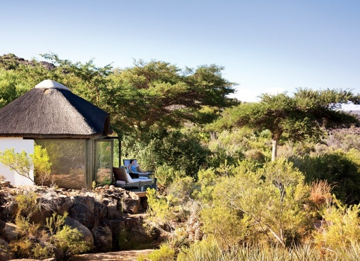 Relais  Chateaux - Only 270 km from Cape Town, this natural haven of tranquility allows one to surrender one's senses, while reconnecting with nature. South Africa's Bushmans Kloof, a private wildlife reserve. #relaischateaux #southafrica