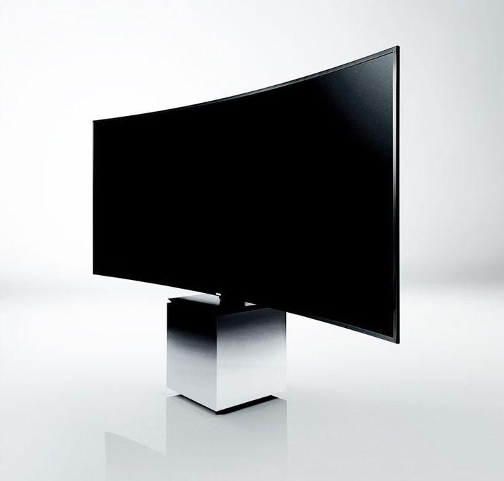 yves behar + samsung team up to design 105 inch curved quantum dot TV
