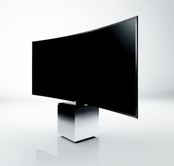 """""""curve it and put it on a pedestal, like art"""" yves behar + samsung team up to design 105 inch curved quantum dot TV"""