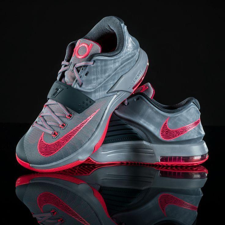 Storm the court in t Storm the court in the latest Nike KD VII #basketball.  Cheap Jordan ShoesAir ...