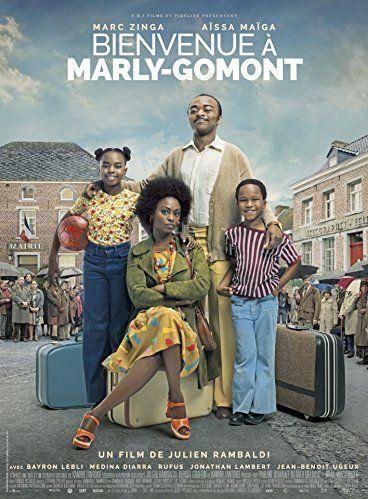 Aïssa Maïga, Marc Zinga, Médina Diarra, and Bayron Lebli in Bienvenue à Marly-Gomont (2016)