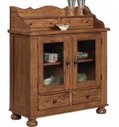 Attic Heirlooms Dining Chest In Oak By Broyhill   Home Gallery Stores