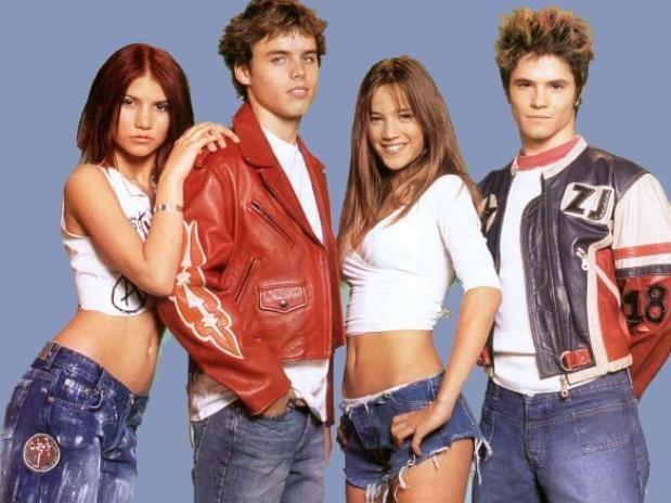 """Erreway grupo de la tira """"Rebelde Way"""""""