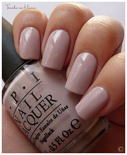 OPI - Steady as she rose, dusty neutral pink.
