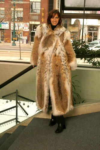 Luxury made-to-measure fur coat made in Toronto at Yukon Fur - http://yukonfur.com