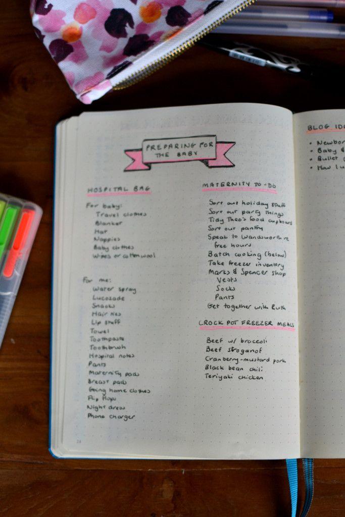 Brand new bullet journal