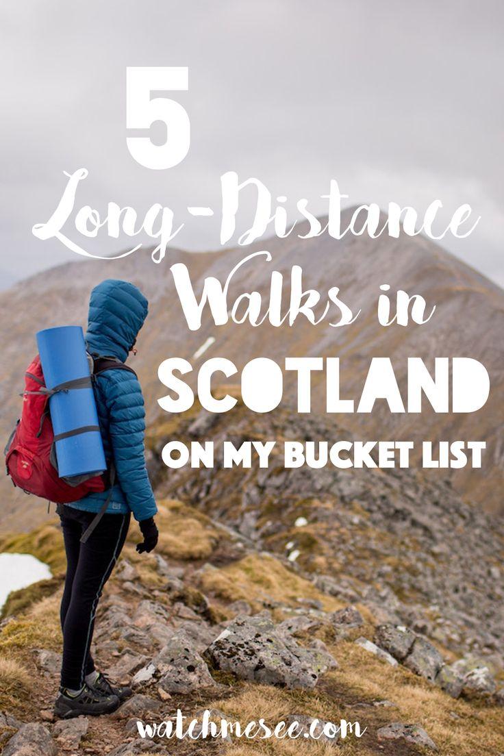 5 Long-Distance Walks in Scotland on my Bucket List