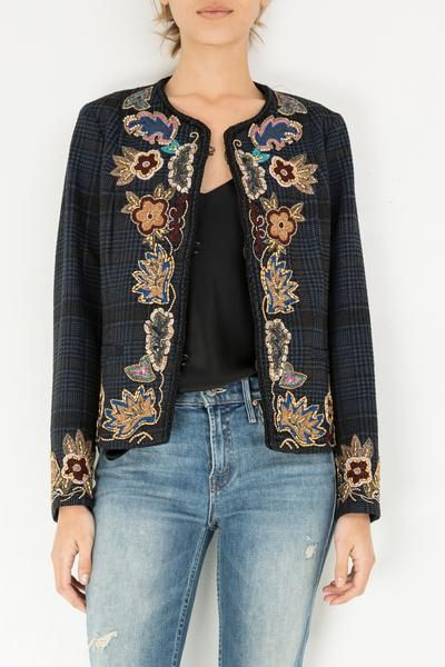 52421e9bbb CHANEL STYLE JACKET By Bazar Deluxe