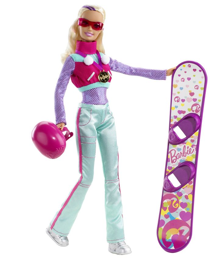 barbie toys | Barbie I Can Be Snowboarder Playset - New Barbie Playset from Mattel