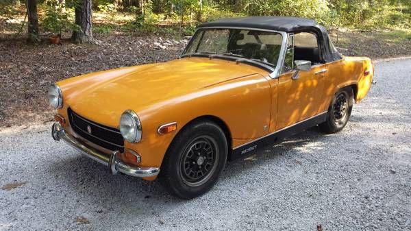1970 MG Midget with 1275 and 5 speed - $6,800 Elberton, GA ...