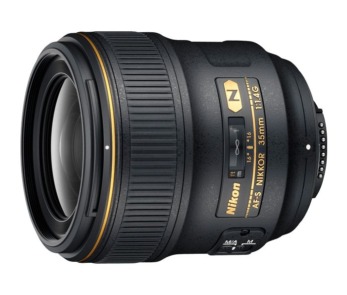 Nikon 35mm f1.4G N :-) Really want this one, but it'll set you back $1800. Eeeeeek.