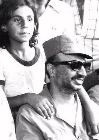 Arafat in Lebanon, circa 1974