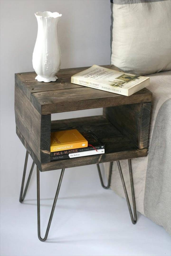 Budget Friendly - 20 DIY Side Table Ideas To Try Out