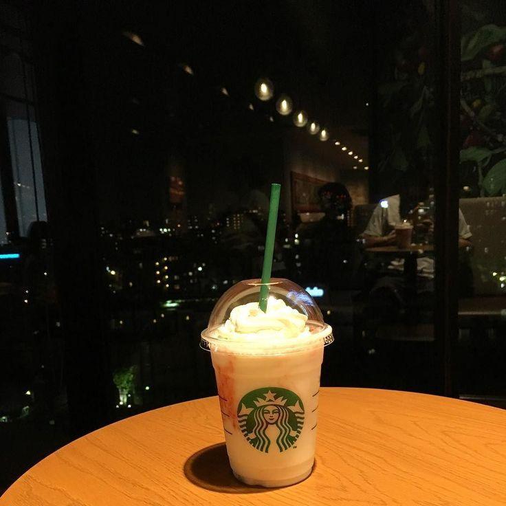 ストロベリークリームフラペチーノ #スターバックス #ストロベリークリームフラペチーノ #カフェ #cafe #東京スカイツリー