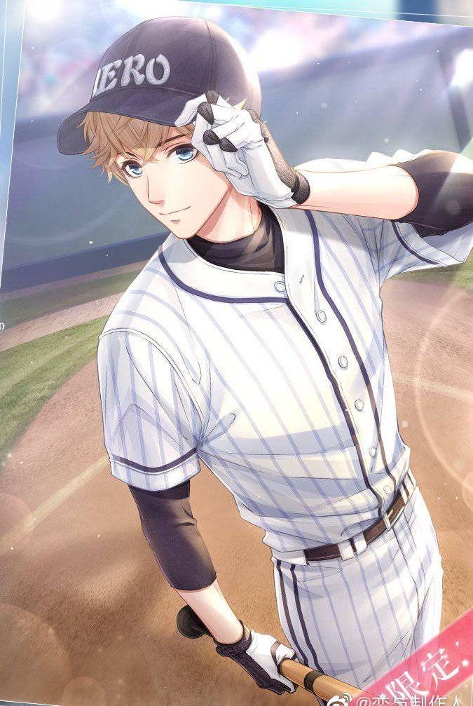 Handsome Baseball Player Handsome Anime Guys Cute Anime Guys