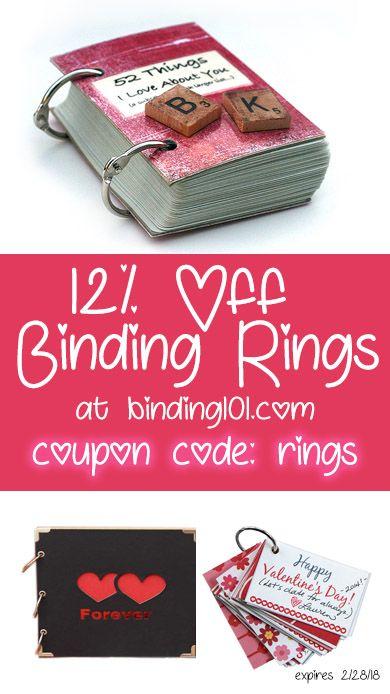 ❤ Binding Ring Valentin'es Day Gift Idea ❤