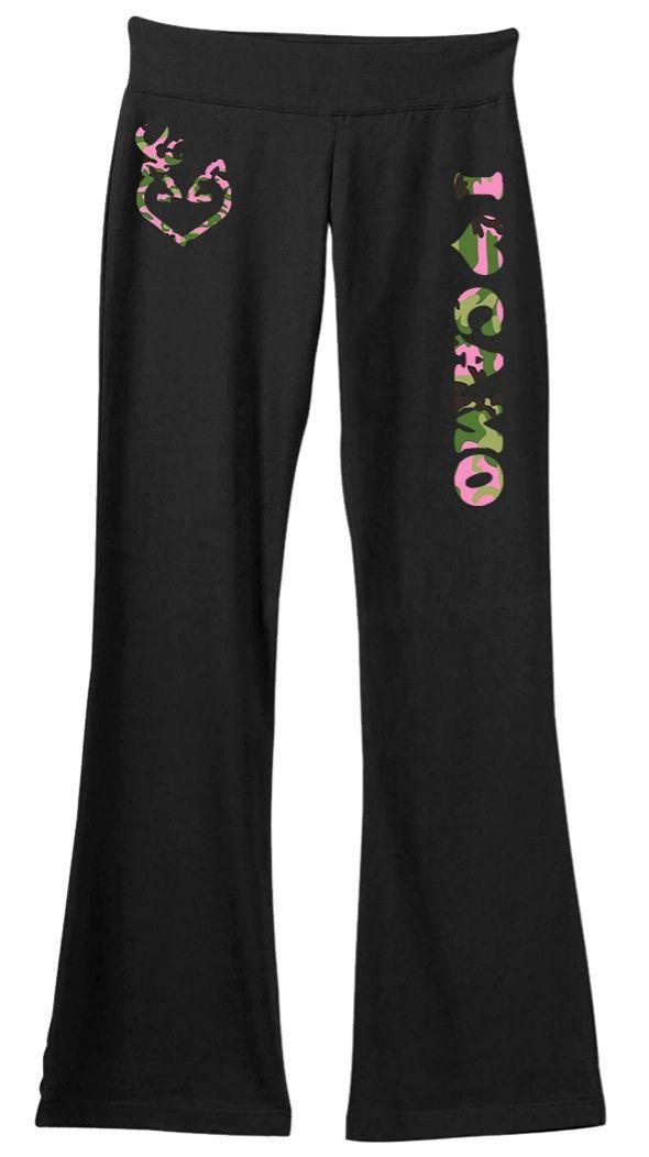 I Love Camo Yoga Pants! | Teespring