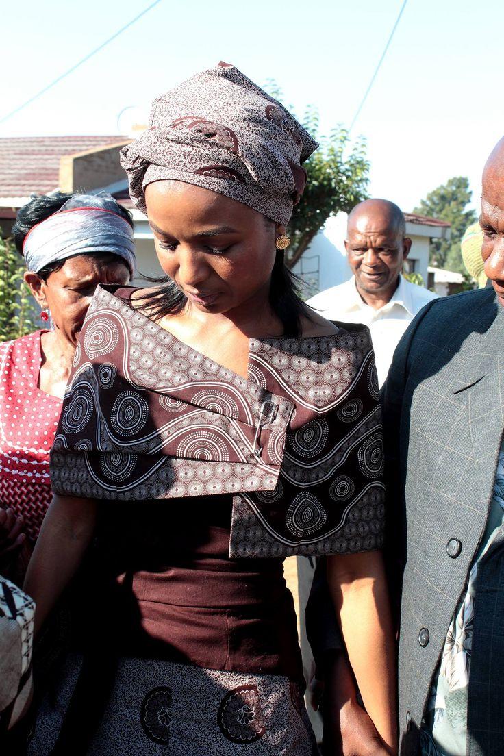 Wedding dress - Bongiwe Walaza