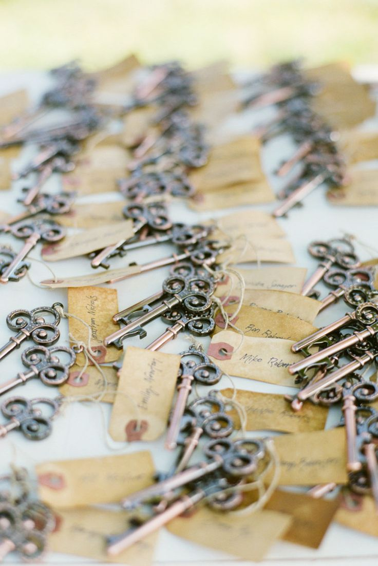 Skeleton Key Bottle Opener Wedding Favor With By TreesofLace These Would Be A Great Idea The Bride Grooms Names On Tag And Something That Is