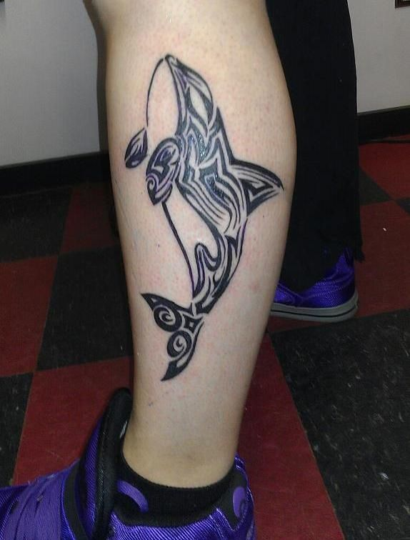 killer whale tattoo