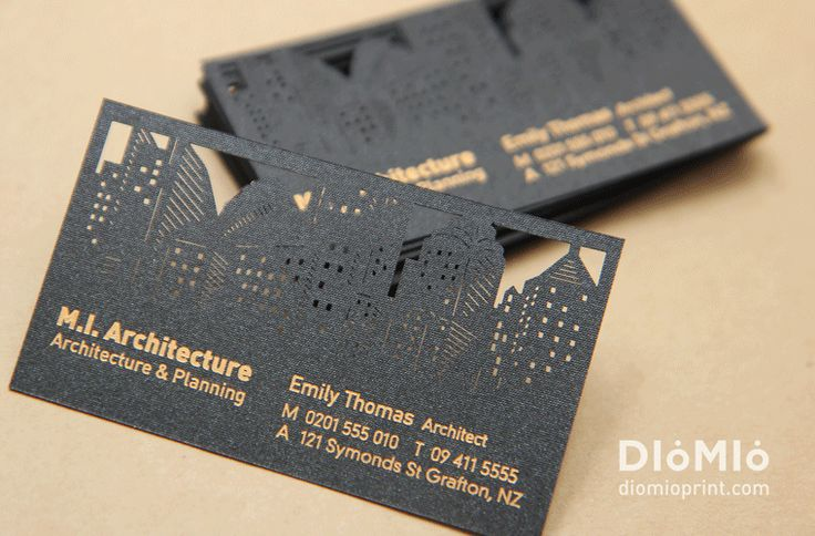 Architect Business Cards - DioMioPrint                                                                                                                                                                                 More