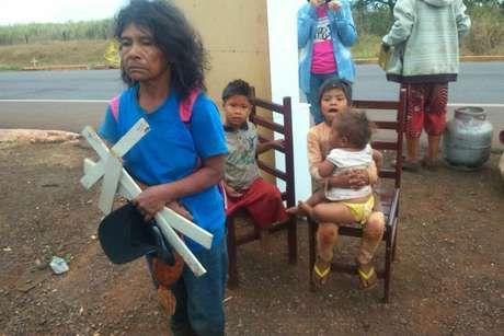 La comunidad indígena Apy Ka'y ha sido brutalmente expulsada de su tierra ancestral por agentes de policía armados.