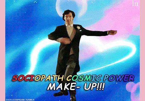 "sherlockspeare: "" Doctor Strange transformation """