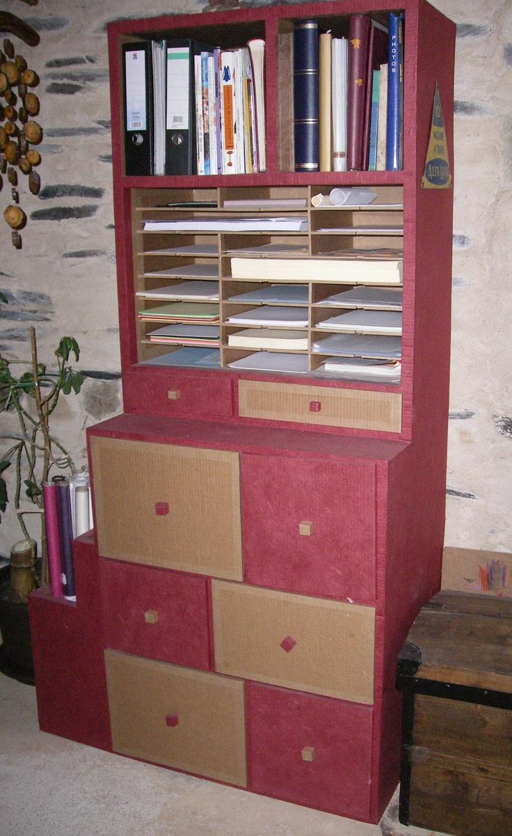 257 best muebles de cart n images on pinterest cardboard - Muebles de carton ...