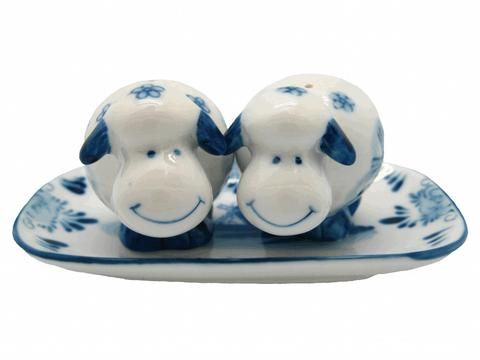 Salt And Pepper Shakers Happy Sheep Unique Gift Idea