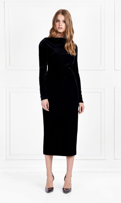 Rachel Zoe Hudson Corded Velveteen Midi Dress 395 00 Dresses Midi Dress Rachel Zoe [ 1170 x 700 Pixel ]