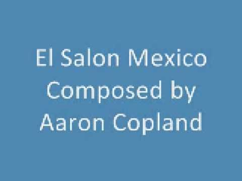 17 best images about music from around the world on for Aaron copland el salon mexico