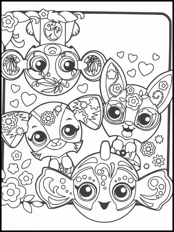 Zoobles 32 Printable Coloring Pages For Kids Cartoon Coloring Pages Coloring Pages Online Coloring Pages
