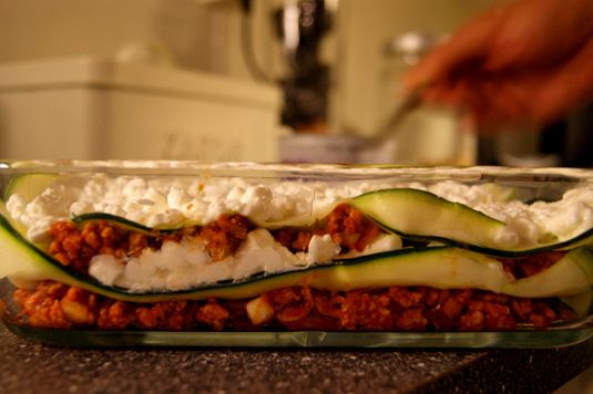 Lasagna without lasagna. Zucchini Lasagne. Let's give it a try!