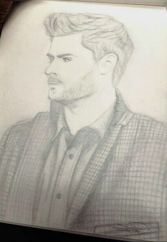 Zac Efron attempt  (Pencil sketch)