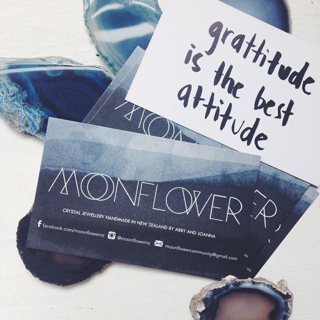 Business Cards and affirmation http://instagram.com/moonflowernz