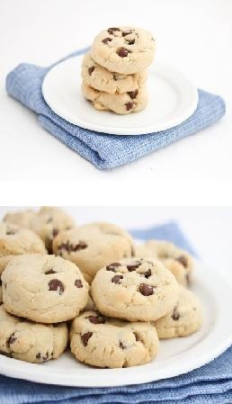 Soft Chocolate Chip Cookies with cornstarch