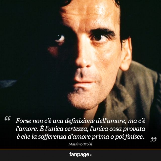 L'amore - Massimo #Troisi