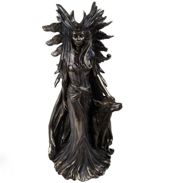 Hekate Hecate Goddess Wiccan Witchcraft Occult Altar Figurine Statue. – Hekate Fantasy Giftware and Art