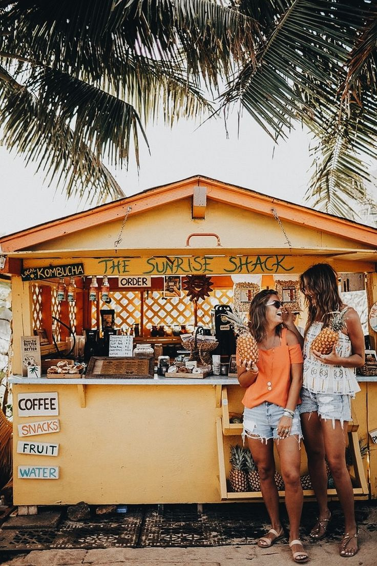 Sunrise shack. Pinterest: pearlxoxoxo