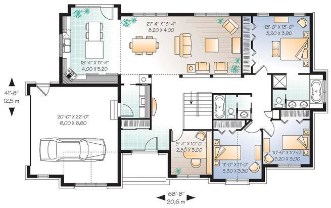 1st level Comfortable 3 to 4 bedroom Ranch bungalow house ... on balcony photography, balcony decorating, balcony painting, balcony office, balcony homes, balcony house ideas, balcony flowers, balcony design, balcony deck plans, balcony building plans, balcony bedroom,