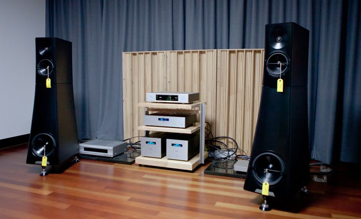 YG Acoustics Hailey 1.2 with Audionet set up