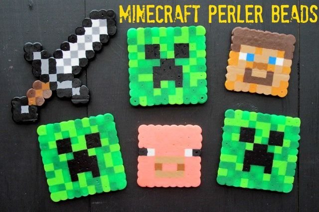 If it's time for the kids to unplug from the TV or their video games, and they have a little bit of a Minecraft addiction, here is an easy craft for them to do that is Minecraft themed! When my friend Traci was struggling to find Minecraft...