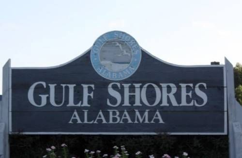Gulf Shores, Alabama - 12 hour trip with stop in Birmingham and we finally made it