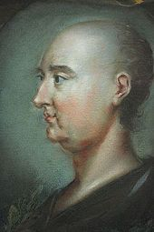 Jonathan Swift (shown without wig) by Rupert Barber, 1745, National Portrait Gallery, London