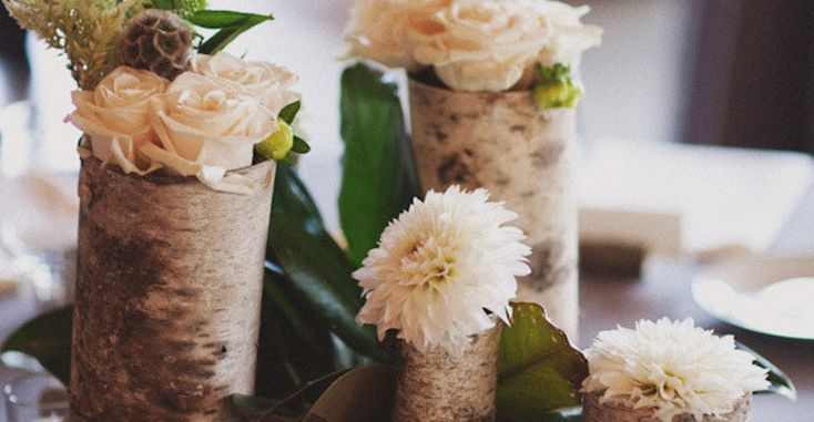 They say that geniuses pick green and after looking through all these gorgeous images from Caroline Ghetes, I can't help but agree with whoever _they_ are. This DIY bride mixed the perfect amount of n...