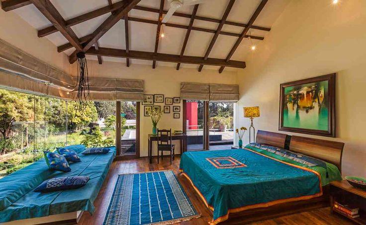 Bedroom Design; Farmhouse by architect kumar moorthy associates