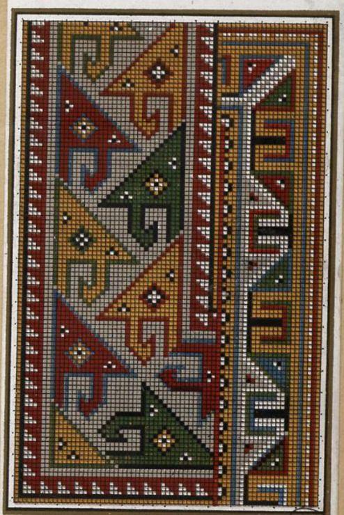 Gallery.ru / Фото #6 - старинные ковры и схемы для вышивки - SvetlanN