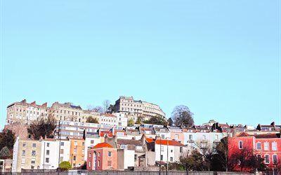 壁紙をダウンロードする 都市, 英国, ブリストル, 港, イギリス, 郡, 建築