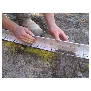 <ul><li>Reliable aluminium garden edge</li><li>Ideal for lawn, garden, paving and bitumen</li><li>Instruction icluded for easy installation</li></ul>